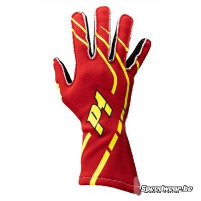 Rallyhandschoen Trendy P1 Advanced Racewear Rood