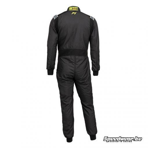 P1 Advanced racewear type RS GT FIA race overall Zwart Anthraciet 1