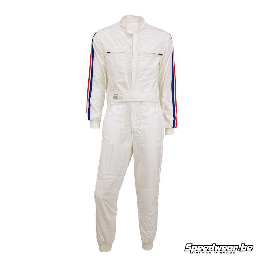P1 Racewear Racepak Type Parabolica - Wit
