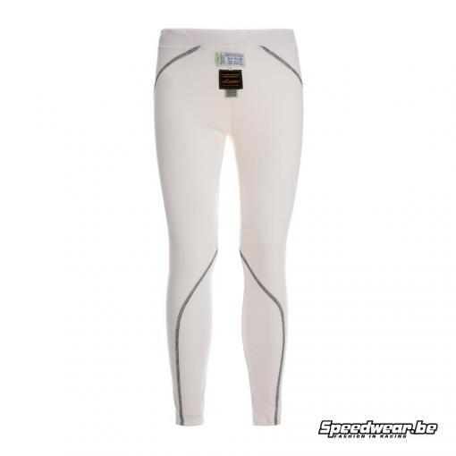 P1 Advanced Racewear Nomex Broek Slim Fit - Wit