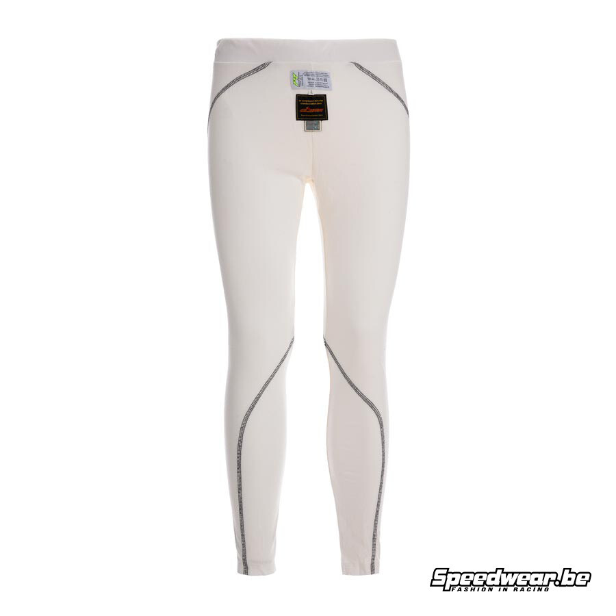 P1 Advanced Racewear Nomex Broek Slim Fit - Wit