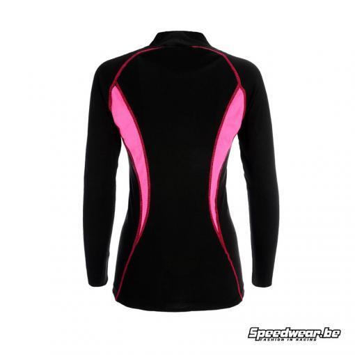 P1 Advanced Racewear voor dames Nomex T-shirt Zwart Fuchsia 1