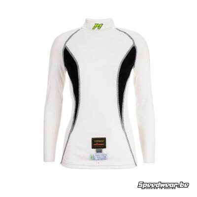 P1 Nomex T-shirt damesmodel - Wit