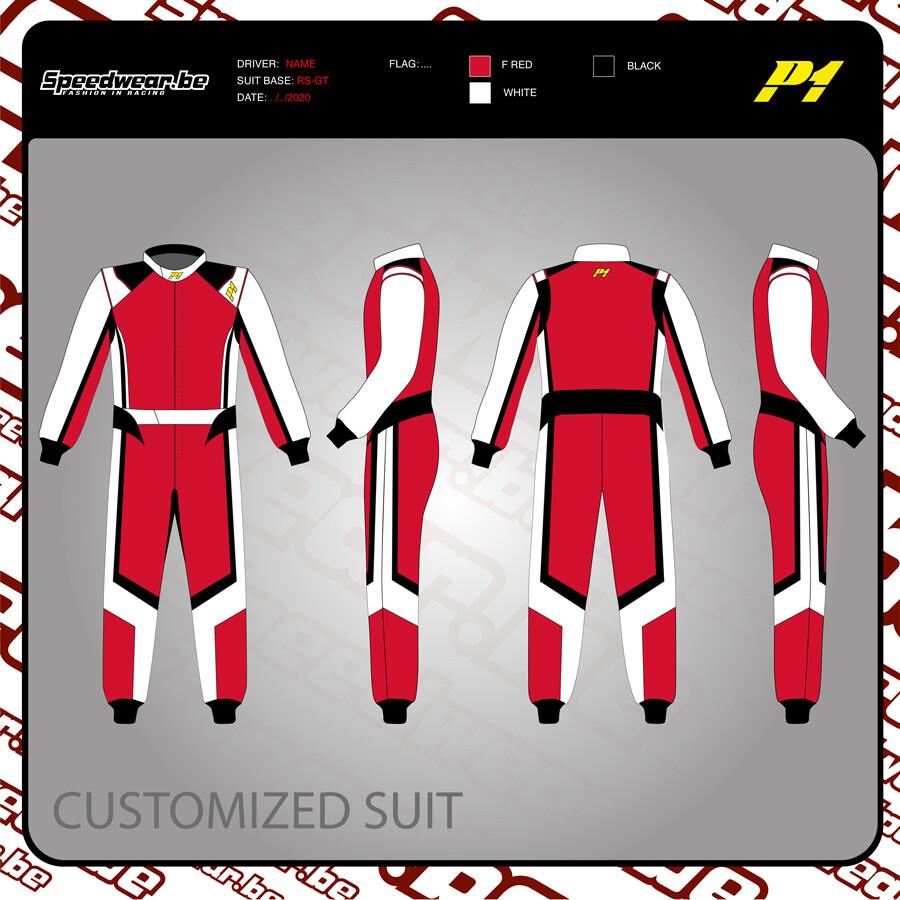 P1 FIA Race overall - Volledig op maat en in eigen design 6