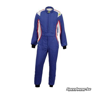 P1 Racewear FIA Racepak type XT Blauw