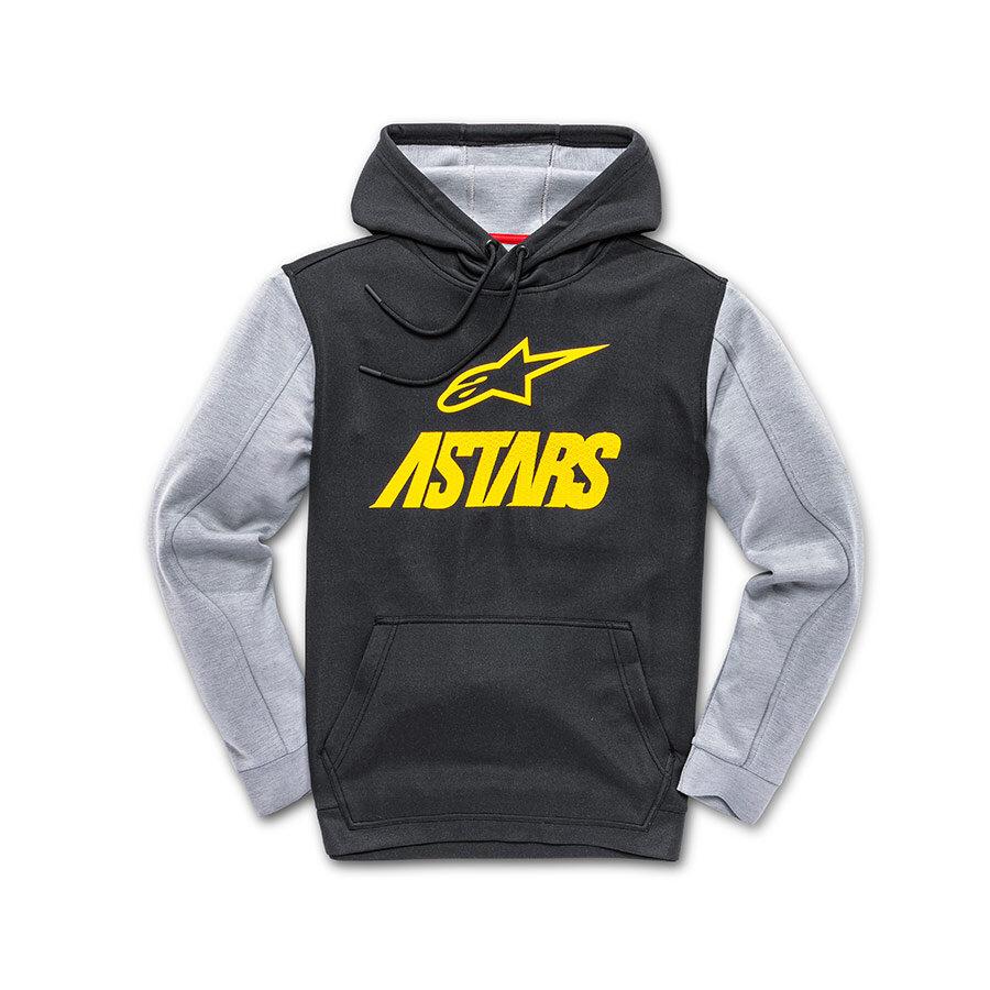 Alpinestars Converse Fleece Black Grey Yellow