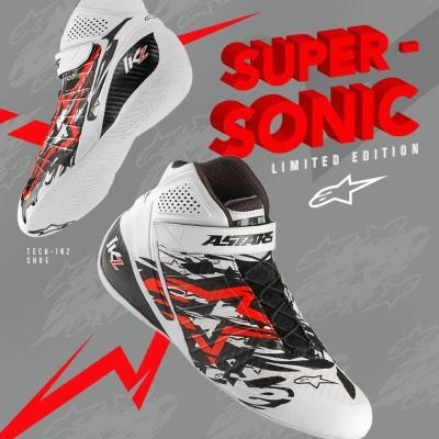 Limited Edition 2020 Alpinestars Kartingschoen SUPERSONIC