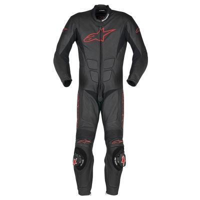 SP-1 suit Zwart/Rood - OUTLET