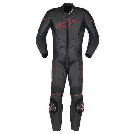 SP-1 suit Zwart/Rood - OUTLET