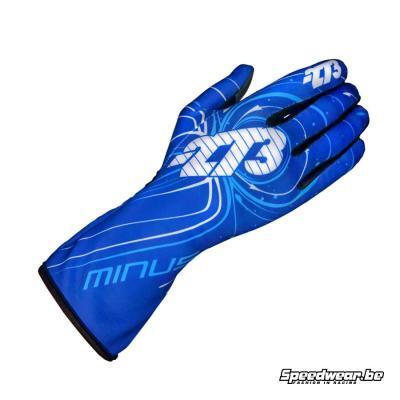 Minus 273 Handschoen voor kartsport type Zero Blauw Wit Cyaan