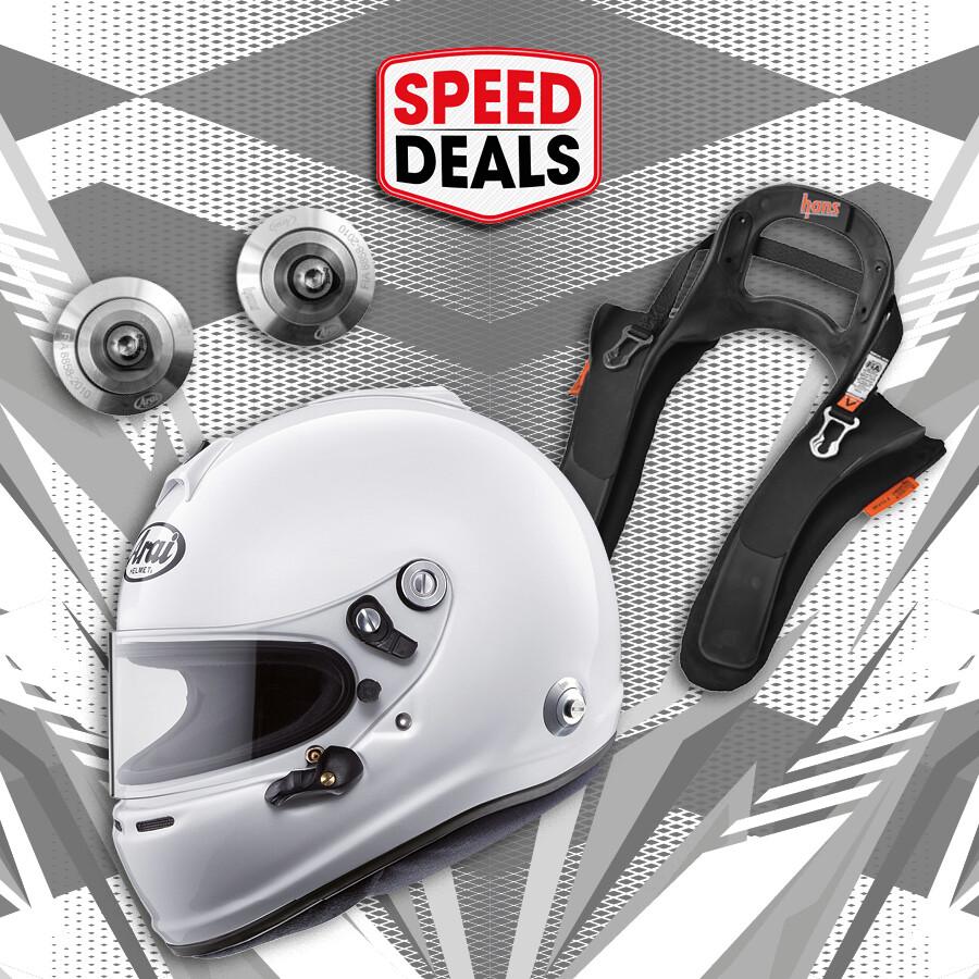 SpeedDeal helmpakket voor autosport #26