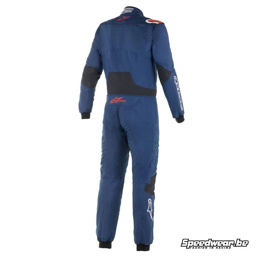 Alpinestars Race suit Hypertech V2 Navy Blauw Speedwear