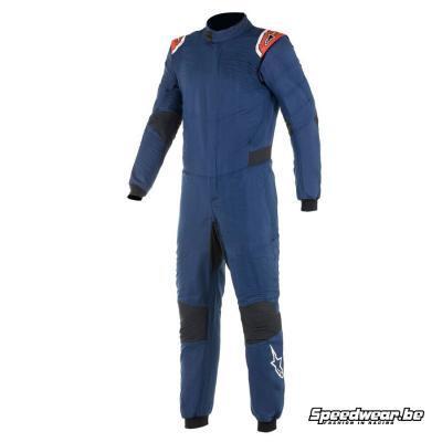 Alpinestars Race suit Hypertech V2 Navy Blauw