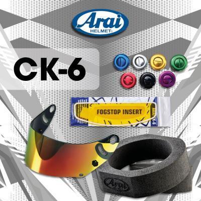 Arai helm CK6 Kind toebehoren