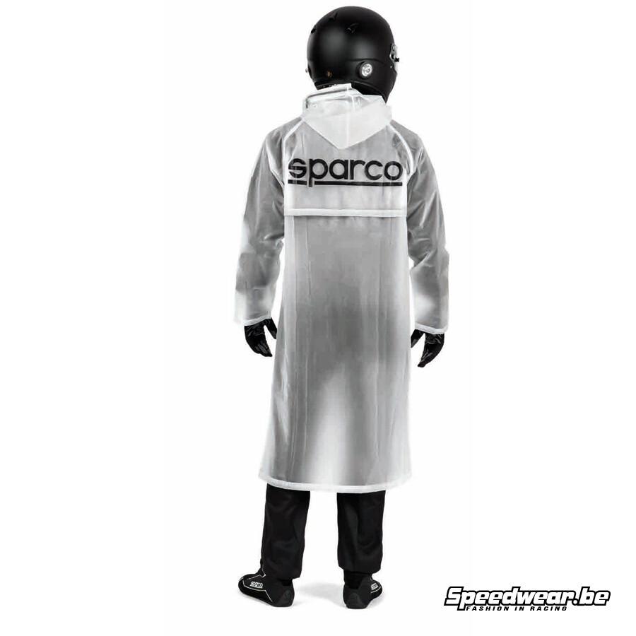 Sparco Regenmantel met kap_Speedwear