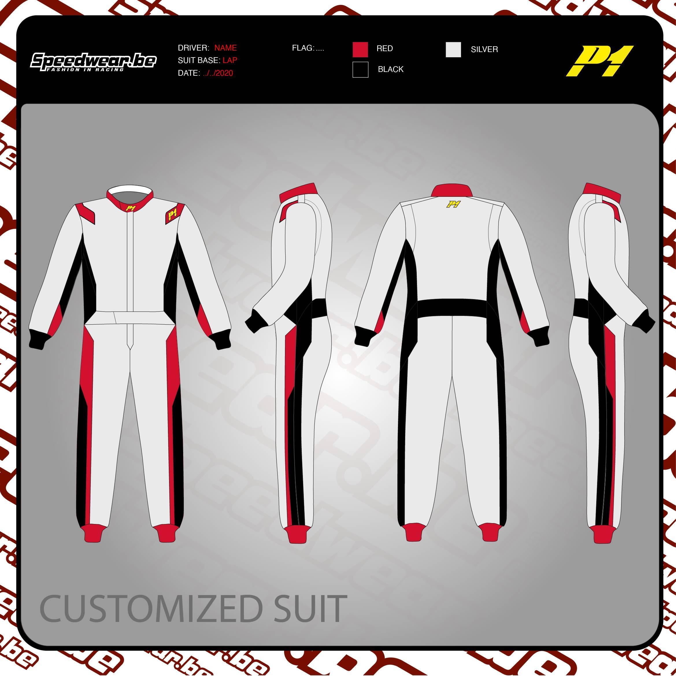 P1 Advanced Racewear TURBO 1