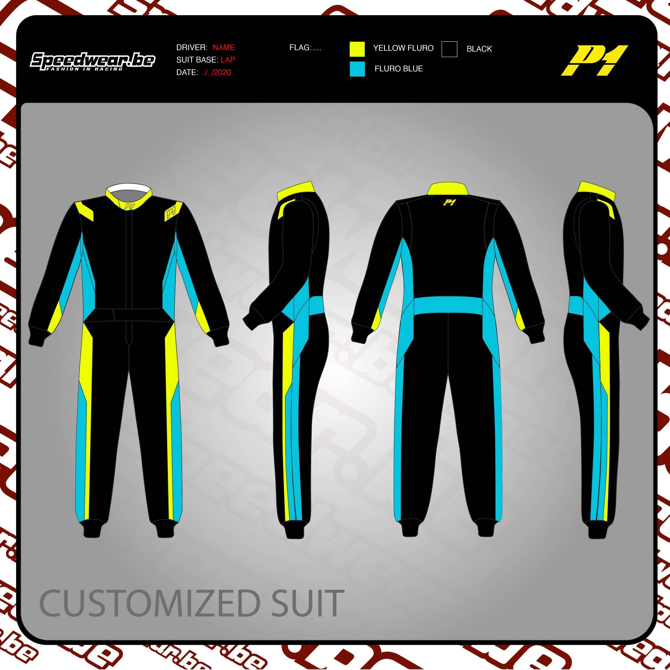 P1 Advanced Racewear TURBO 2