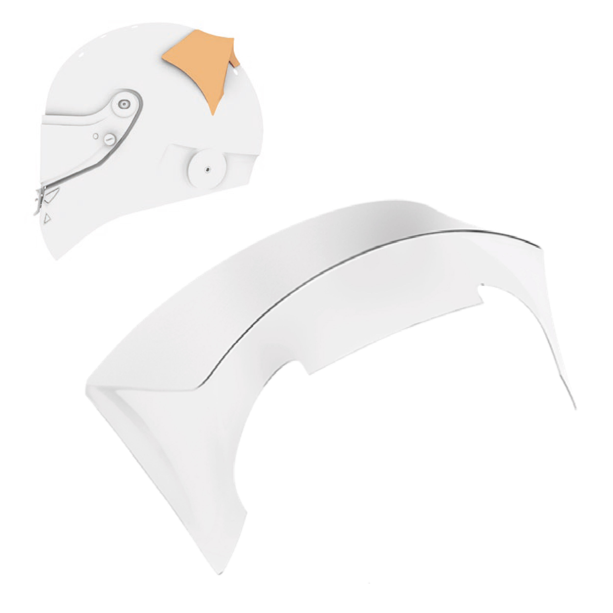Schuberth Top Spoiler Clear