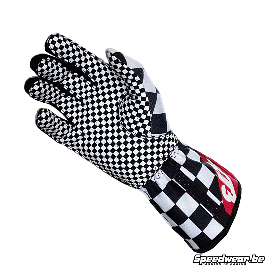 Minus 273 Handschoen voor kartsport CRENSHAW - Achterzijde