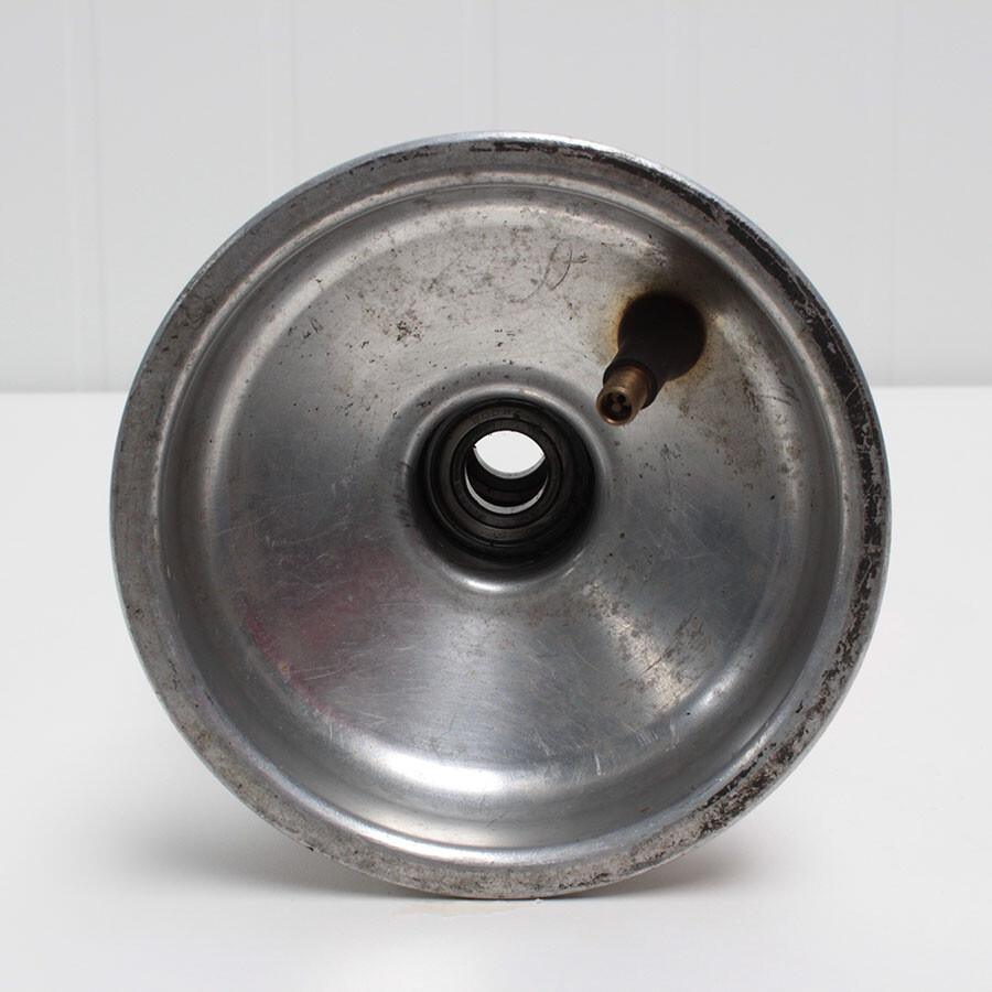Aluminium kartvelg met lager 1 7mm 1stuk