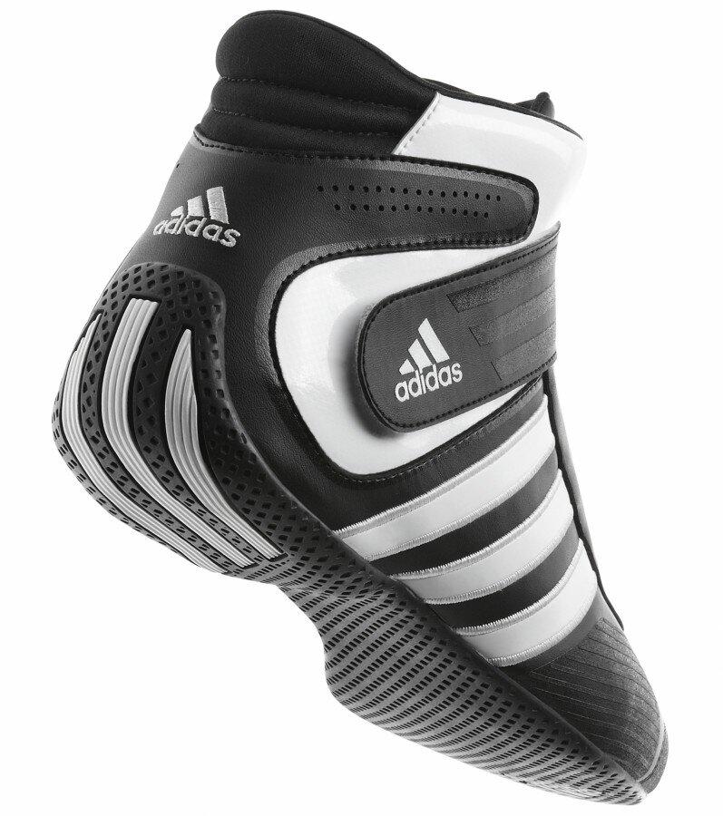 Adidas Kart XLT Schoen voor kartsport Black/White02