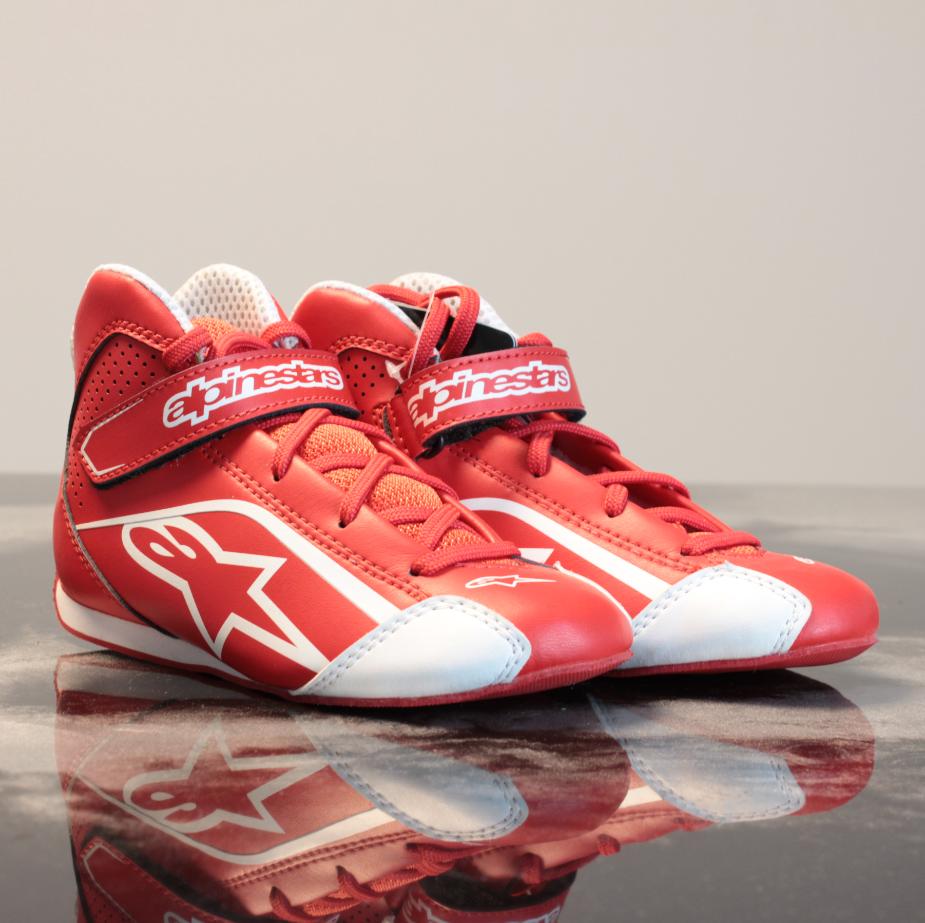 Alpinestars Tech 1-K S. Shoes Red/White
