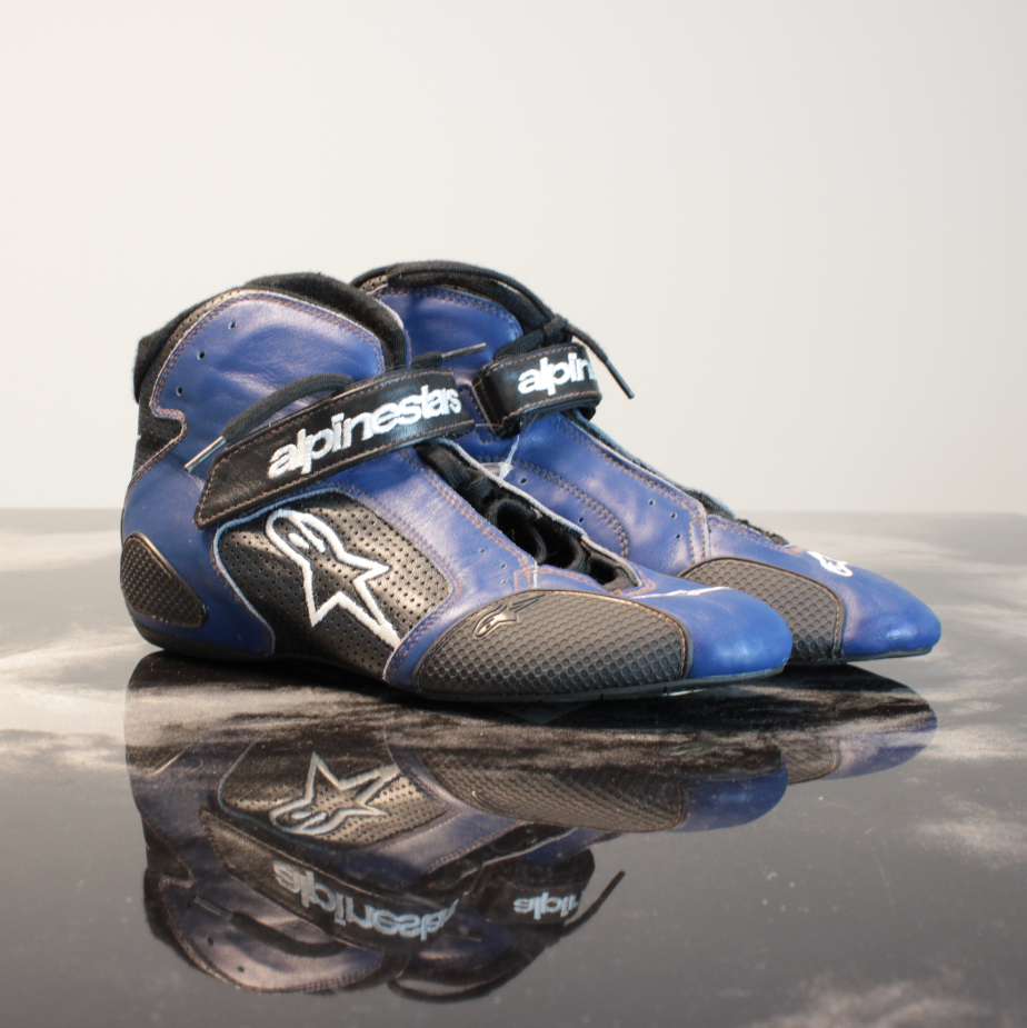 Alpinestars Tech 1-T Kartschoen Blue/White