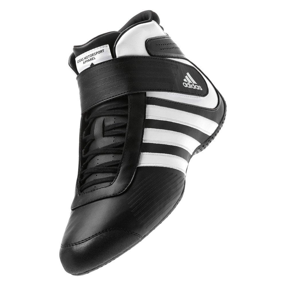 Adidas Kart XLT Schoen voor kartsport Black/White