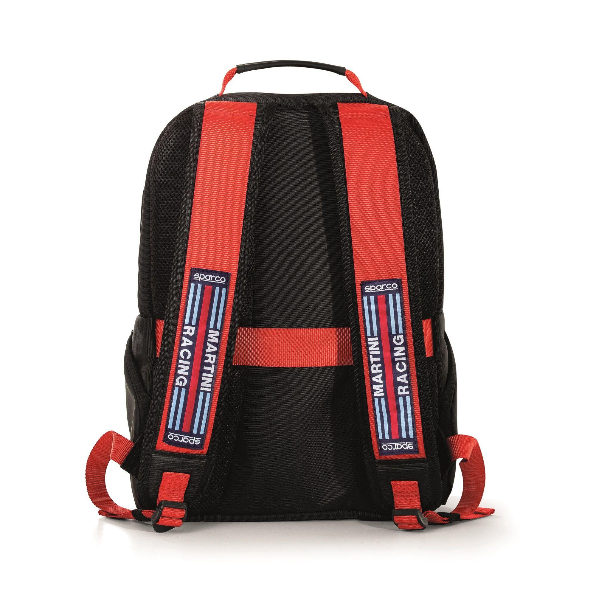 Sparco Stage Backpack Martini Racing Black/Red