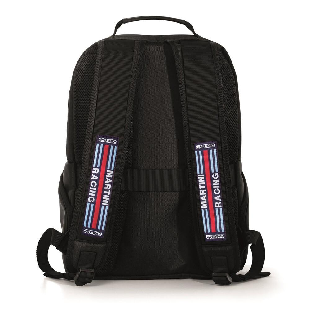 Sparco Stage Backpack Martini Racing Black/Black