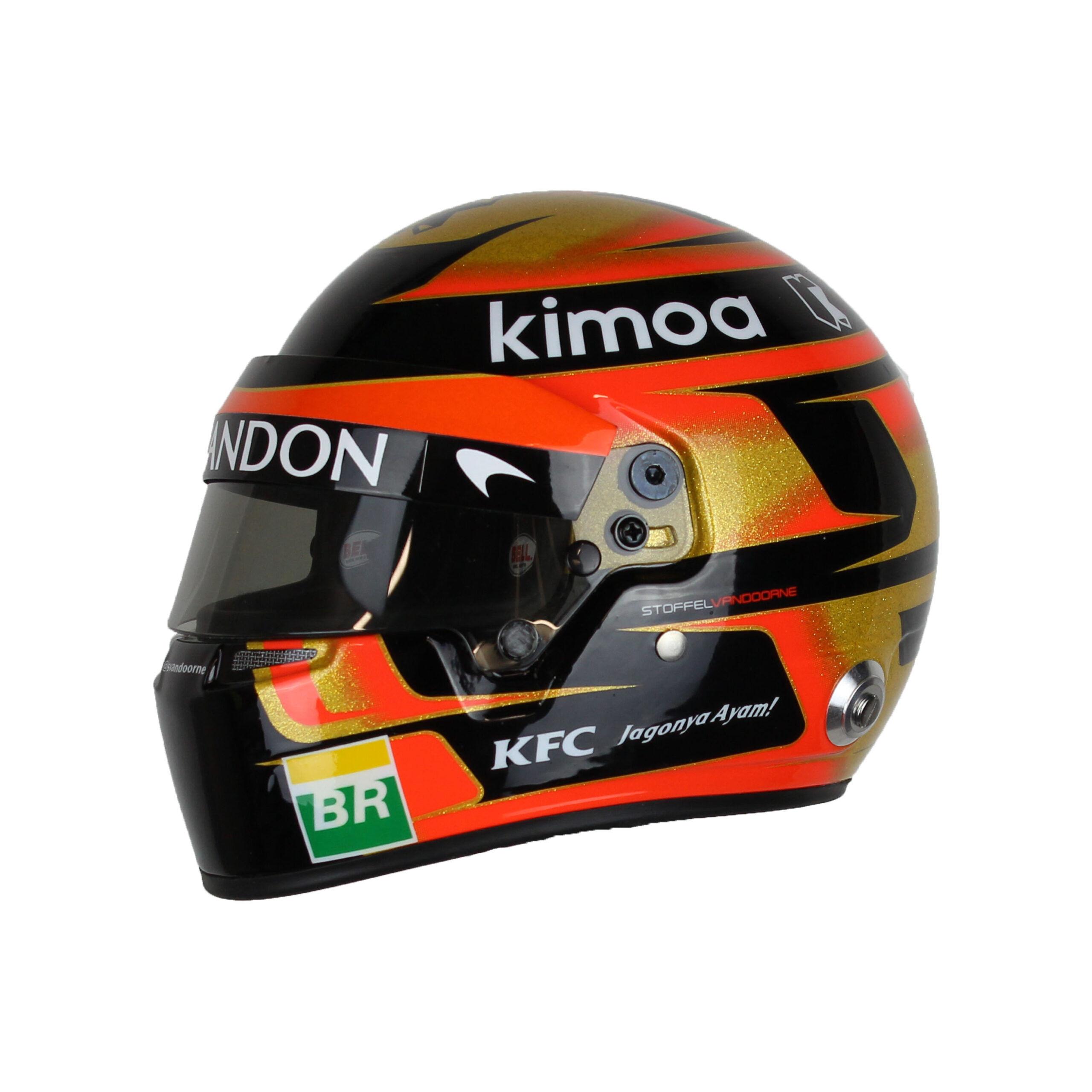 Stoffel Vandoorne Schaalmodel Helm