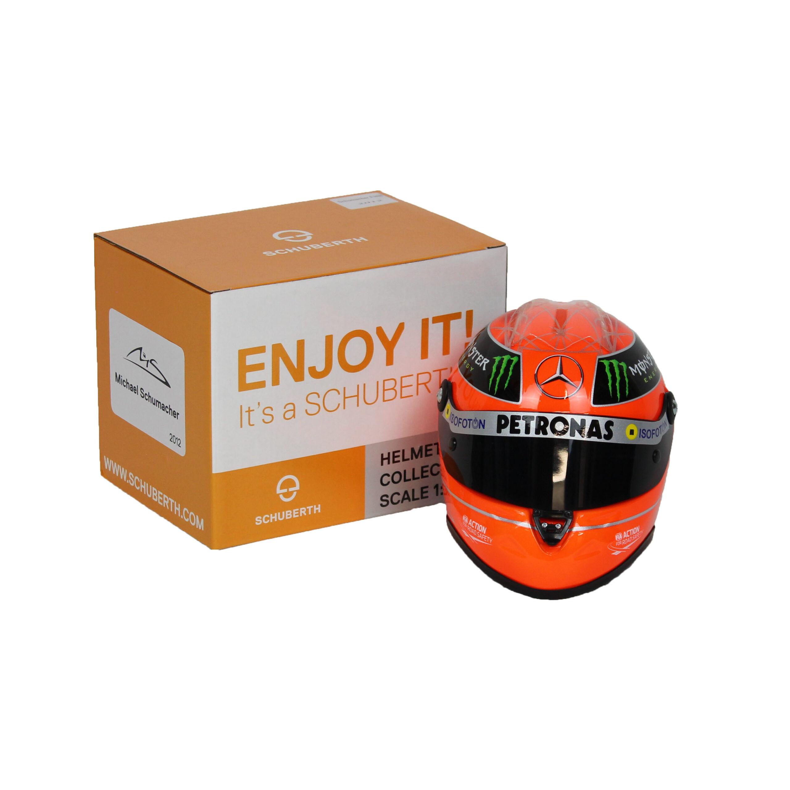 F1 Mini Helm 1/2 Michael Schumacher1