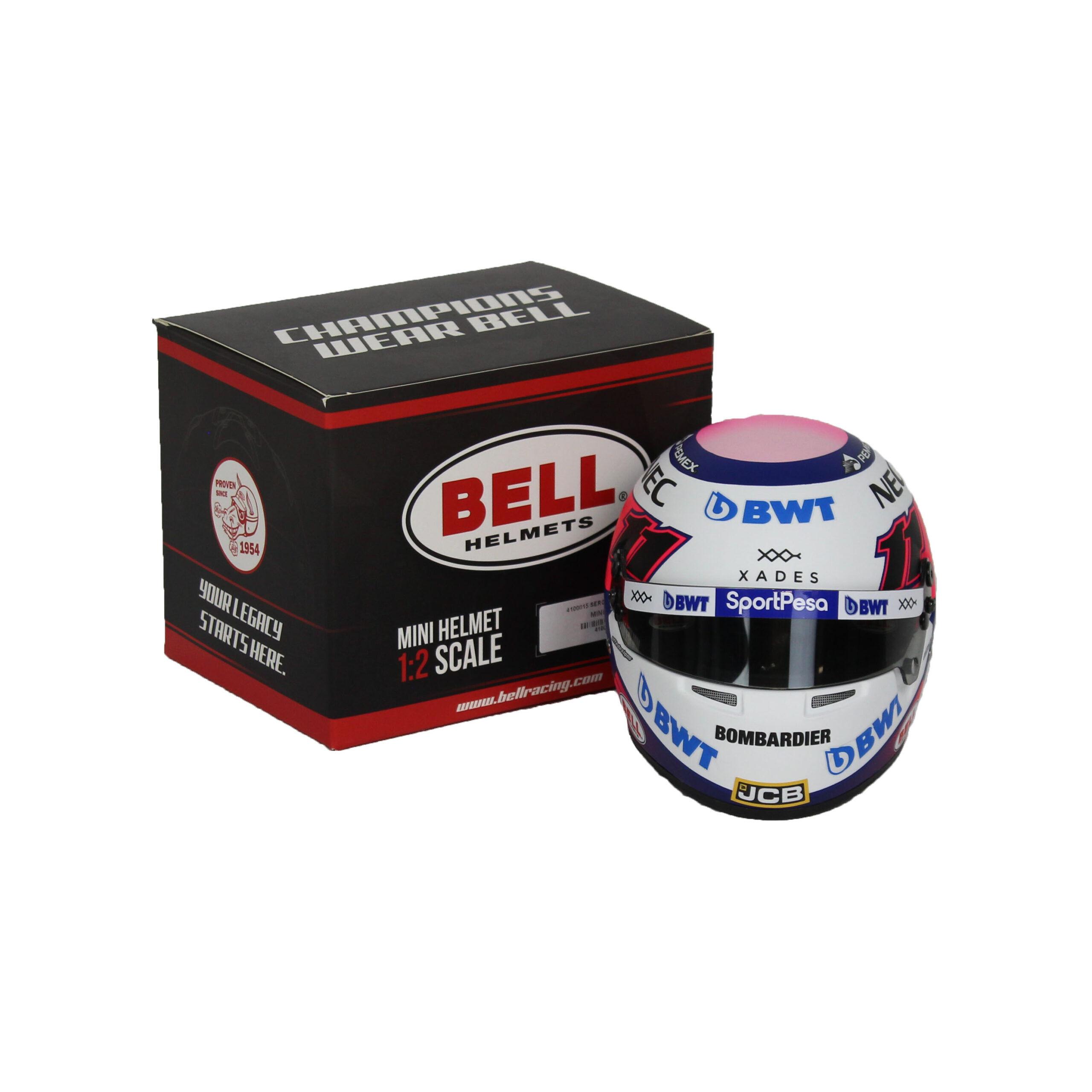 Mini Helm 1/2 Sergio Perez1