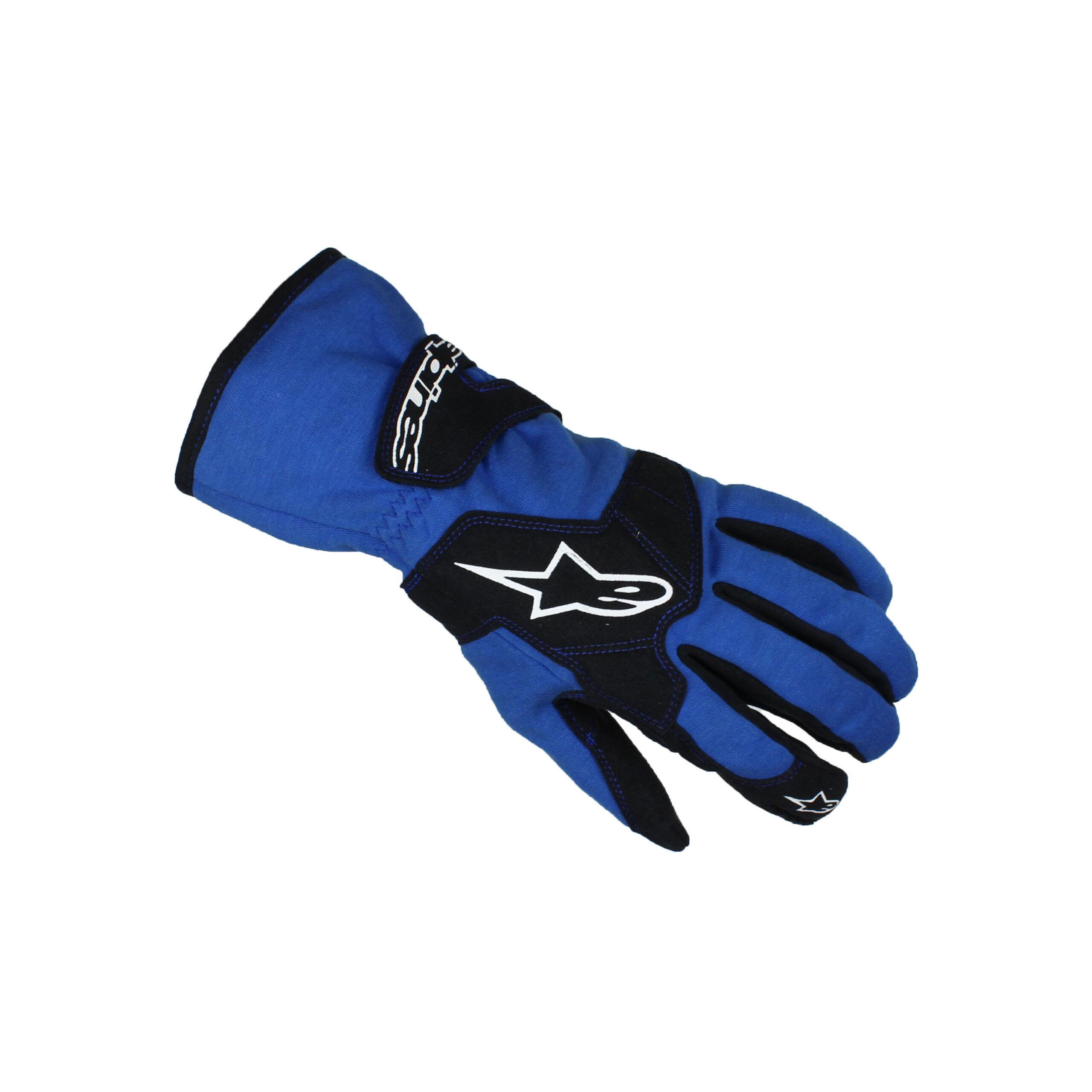 Alpinestars TECH 1-K Karting Gloves Blue/Black