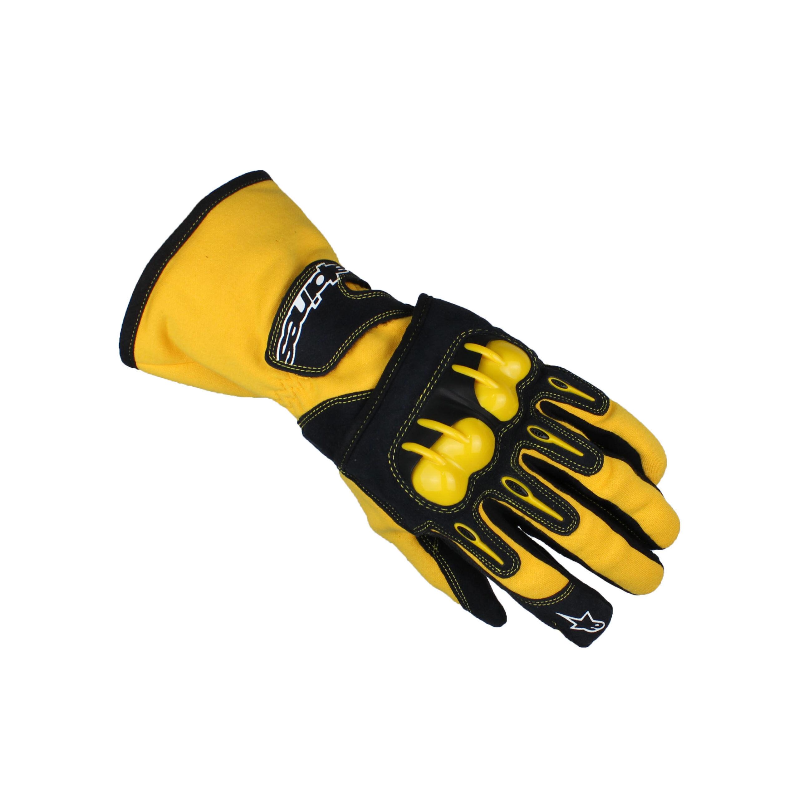 Alpinestars TECH 1-KV Race Gloves Yellow