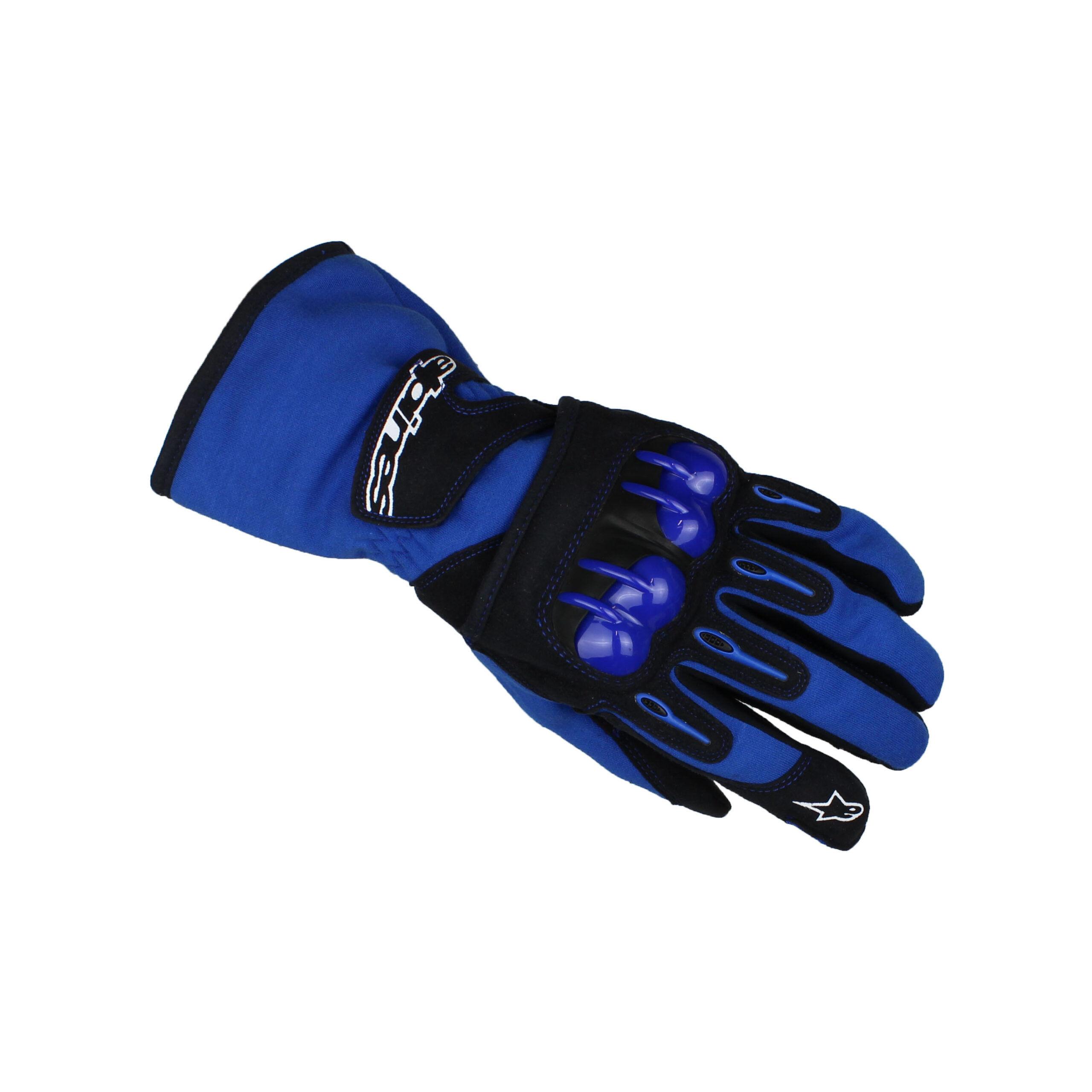 Alpinestars TECH 1-KV Karting Gloves Blue/Black
