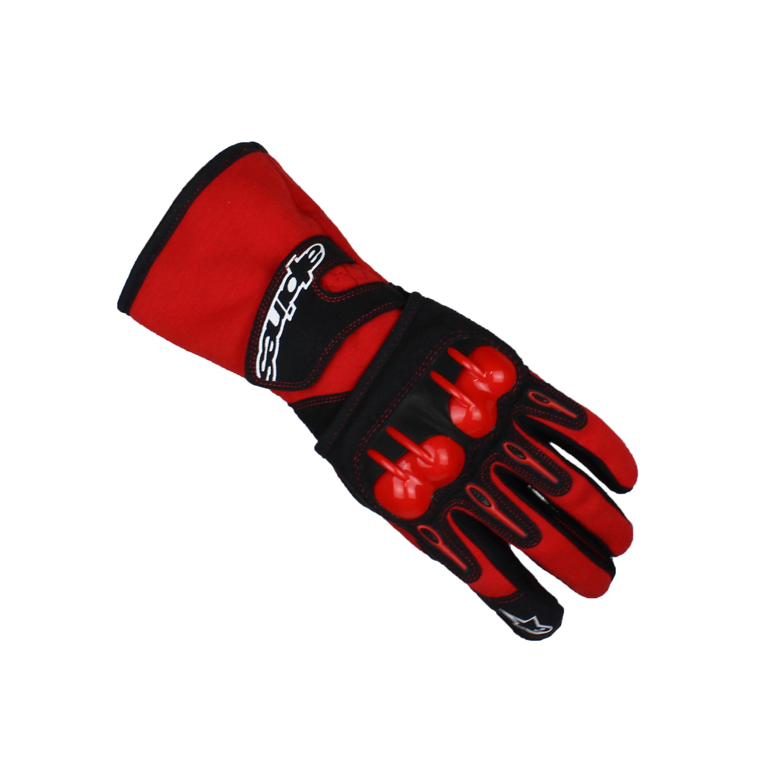 Alpinestars TECH 1-KV Karting Gloves Red/Black