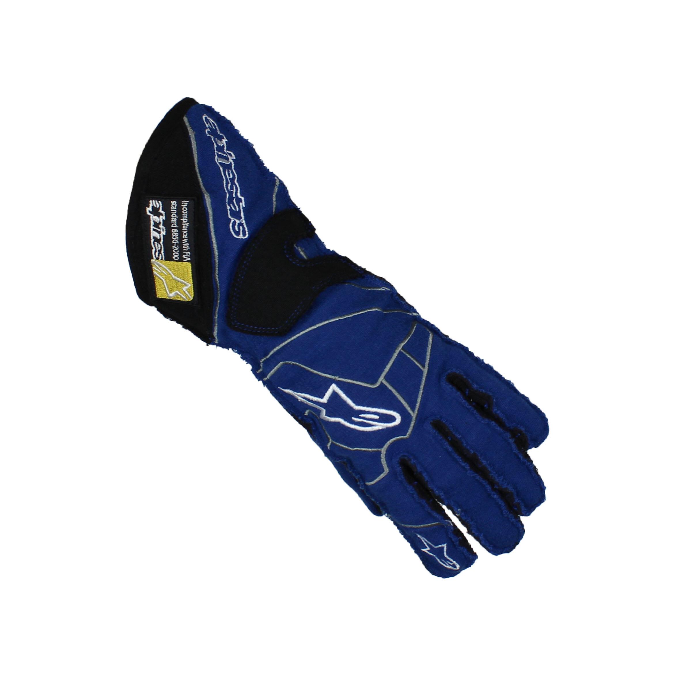 Alpinestars TECH 1-ZX Karting Gloves Blue/Black