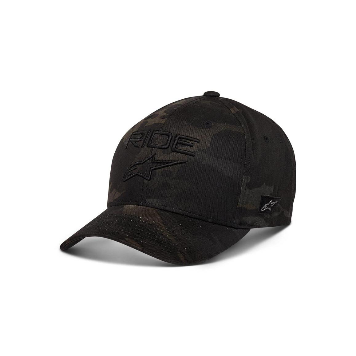 Alpinestars Ride Multicam Hat Zwart Zwart