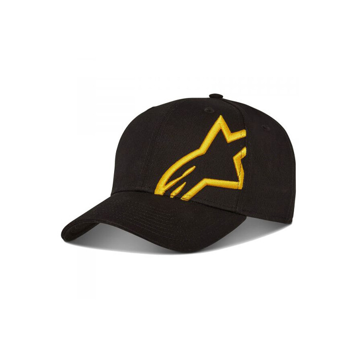 Alpinestars Corp Snap 2 Hat Zwart Goud