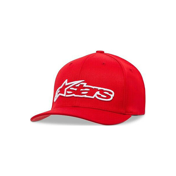 Alpinestars Blaze FlexFit Hat Rood Wit