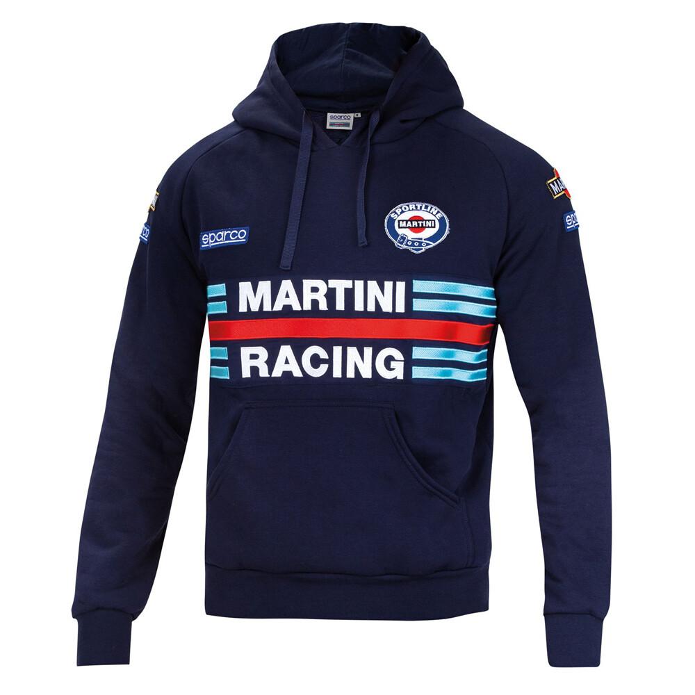 Sparco Hoodie Martini Racing Blue