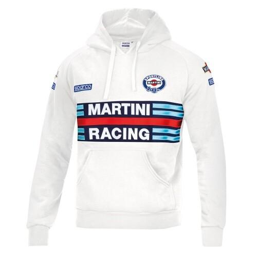 Sparco Hoodie Martini Racing White