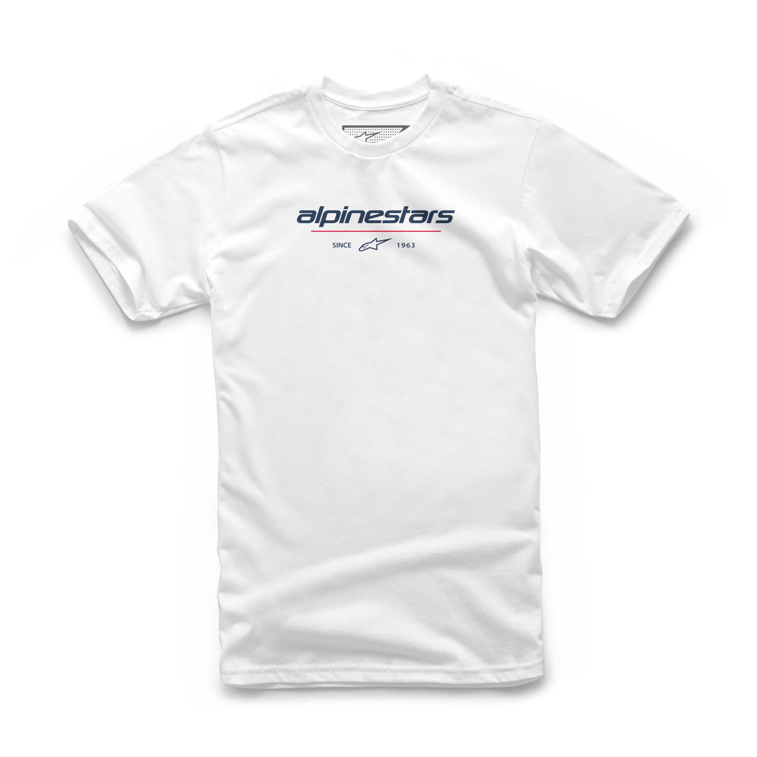 Alpinestars Since 1963 men Tee white