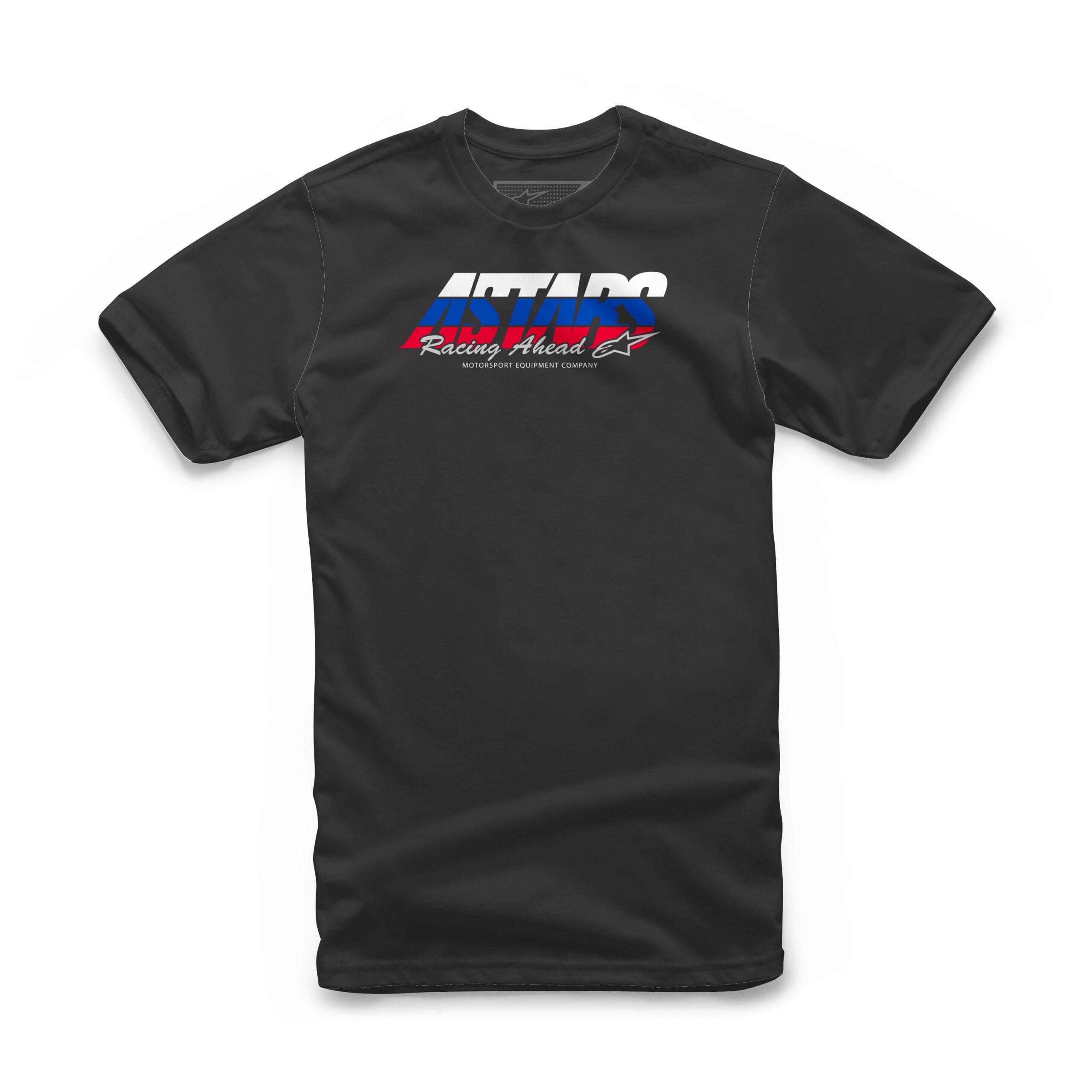 Alpinestars Racing Ahead Tee - zwarte T-shirt voor mannen