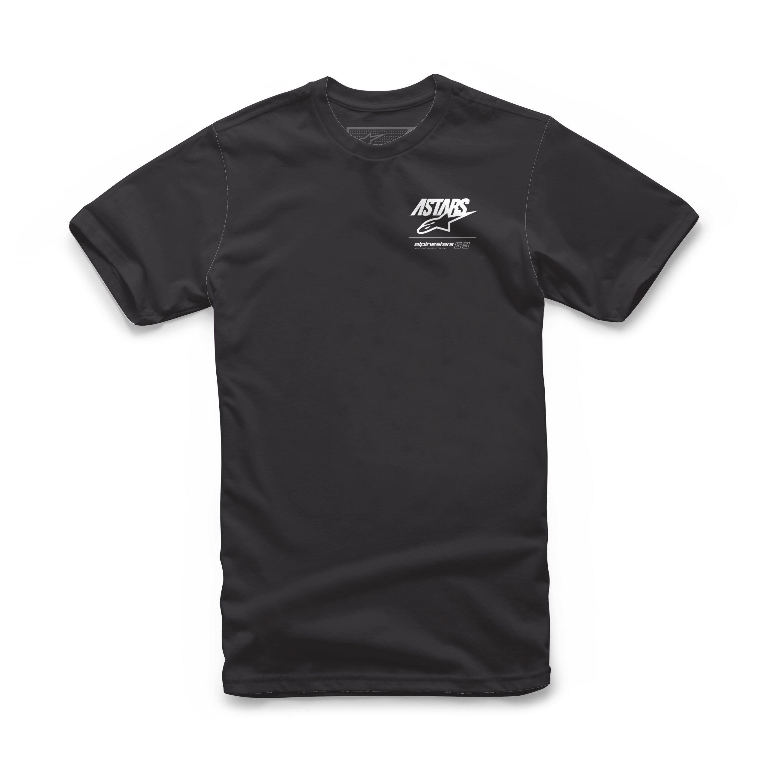 Alpinestars Astars 63 Tee - zwarte T-shirt voor mannen
