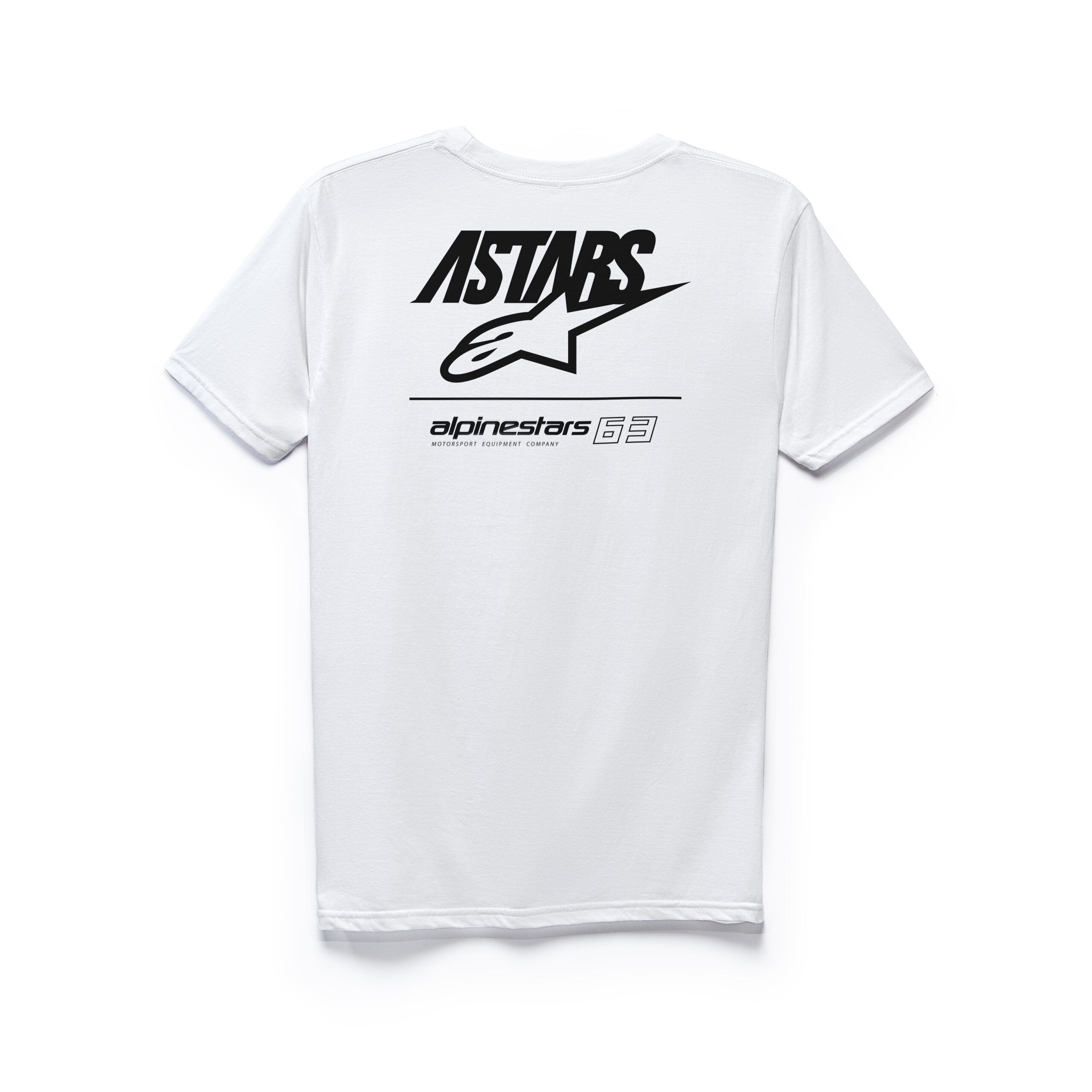 Alpinestars Astars 63 Tee - witte mannen T-shirt