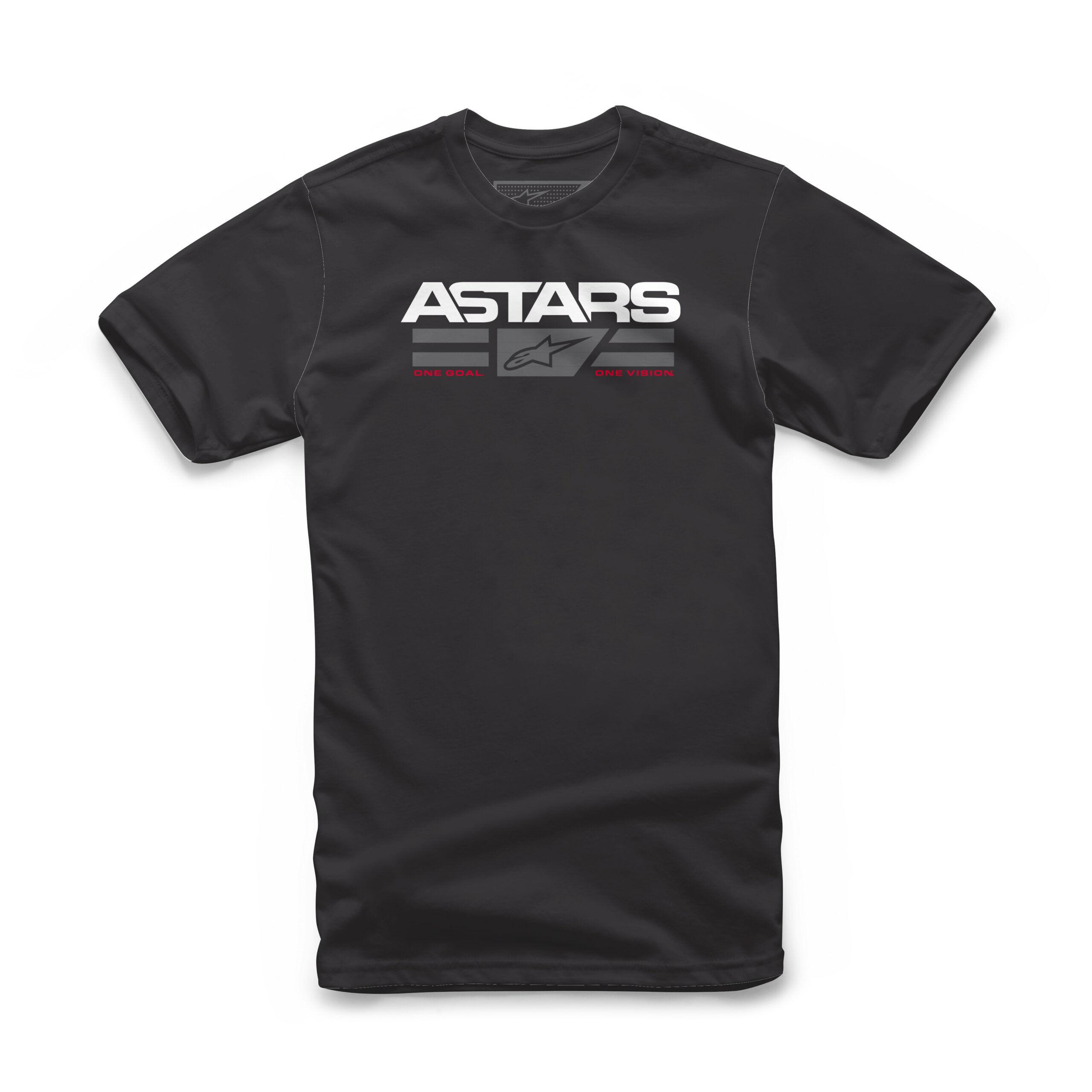 Alpinestars Astars Logo mannen Tee - zwart