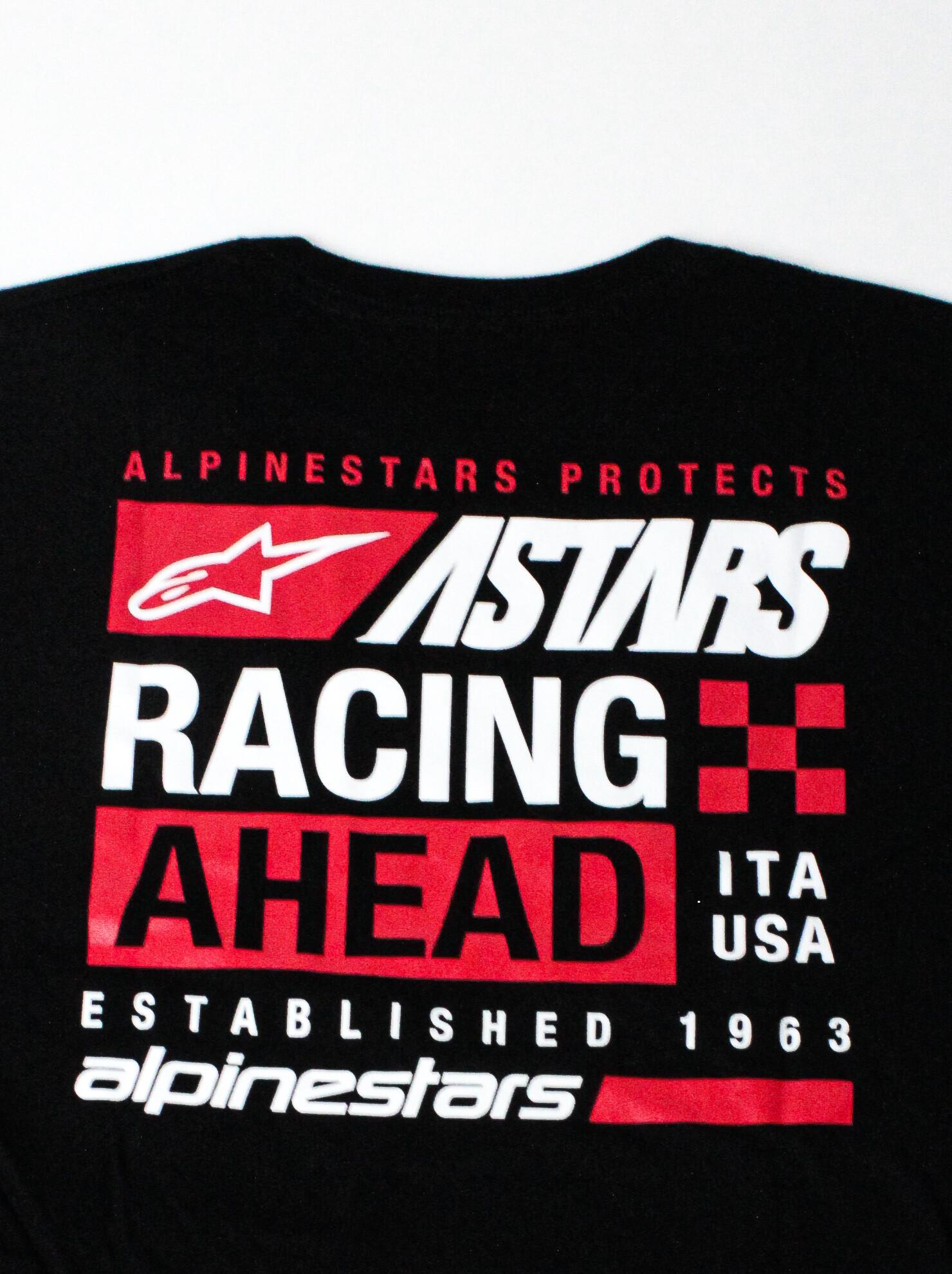 Alpinestars RACING AHEAD Established 1963 Tee – zwarte mannen T-shirt