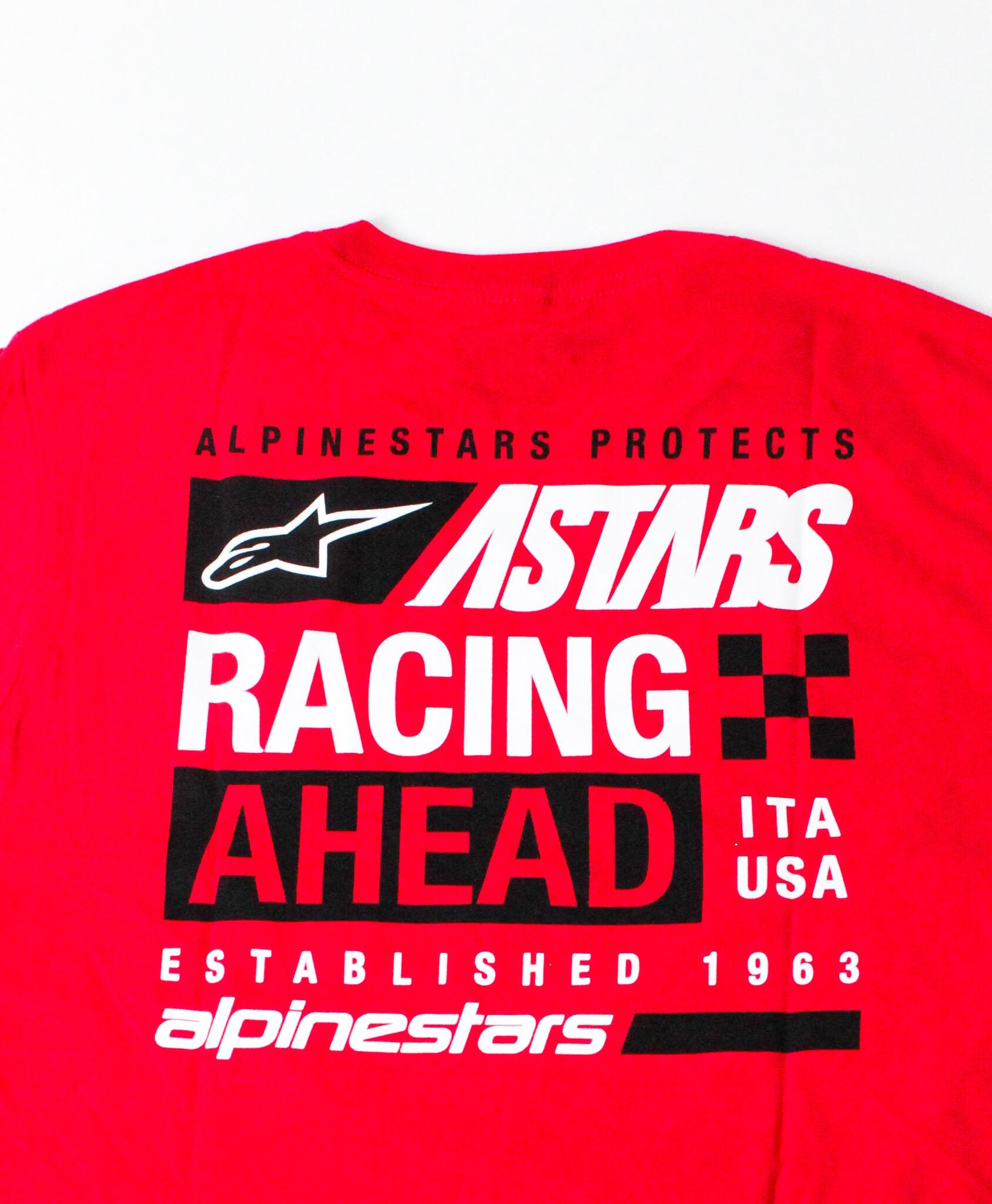 Alpinestars RACING AHEAD Established 1963 - rode mannen Tee